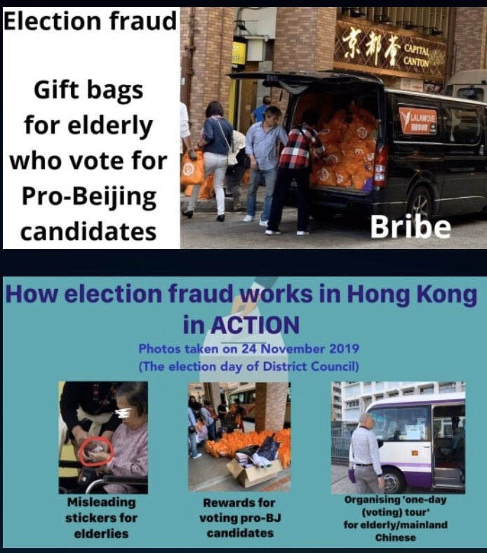 Image result for election fraud  in hong kong