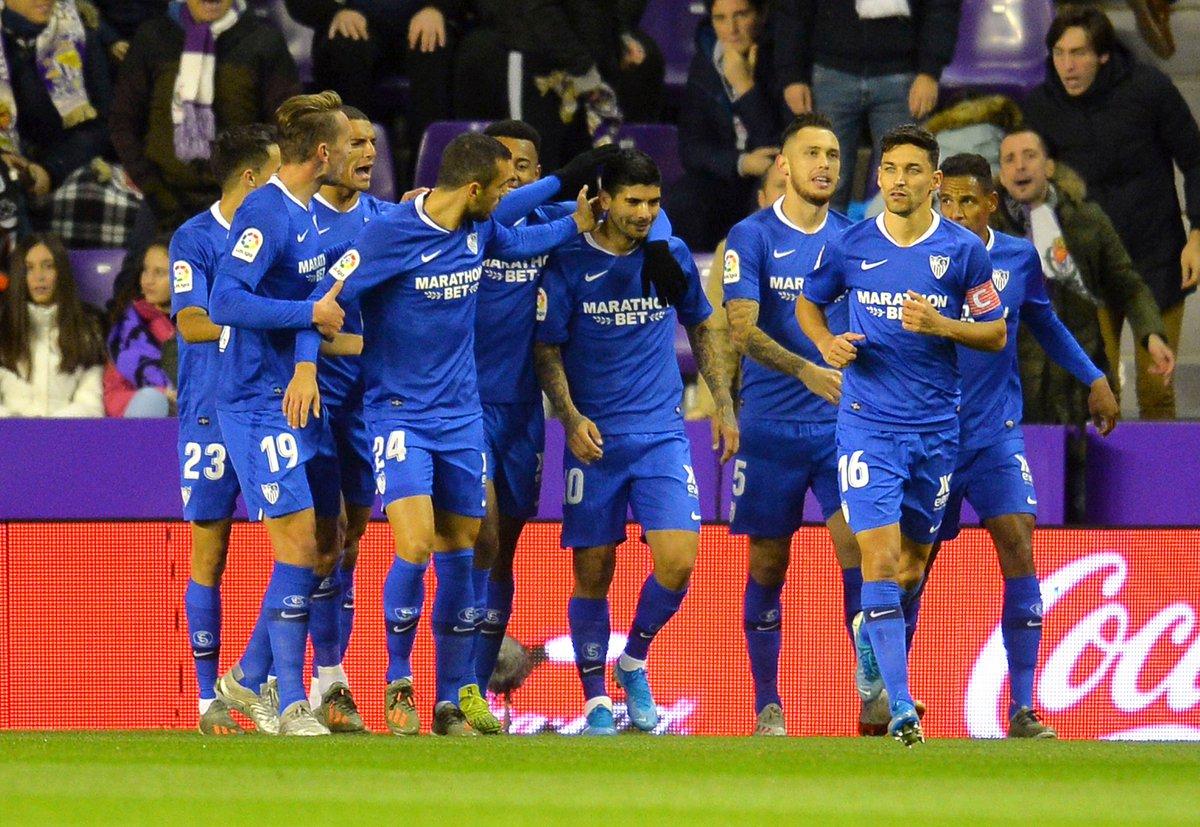 16/24 puntos. 🔐🔥 ¡El @SevillaFC es el MEJOR EQUIPO VISITANTE de #LaLigaSantander!