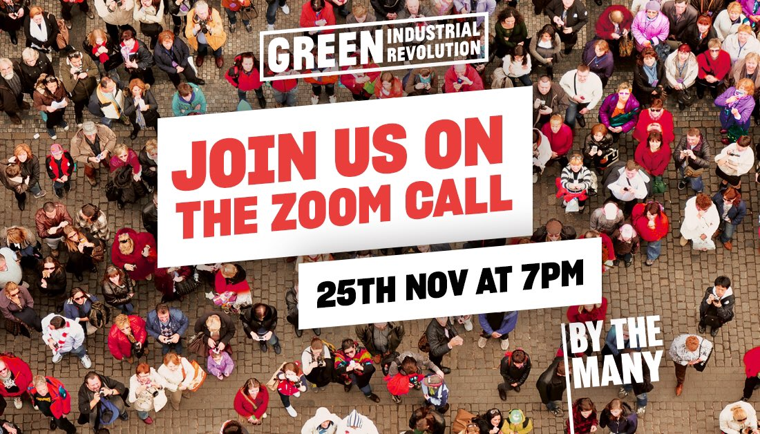 💥You have 1 day left to register to vote! YOUR VOTE COUNTS 💥 🌱 Help save the planet 🌍 Transform our economy 💪🏾 Re-address inequality! Join our #GreenIndustrialRevolution call sign up here bit.ly/2XEkVMC #ByTheMany #RegisterToVote