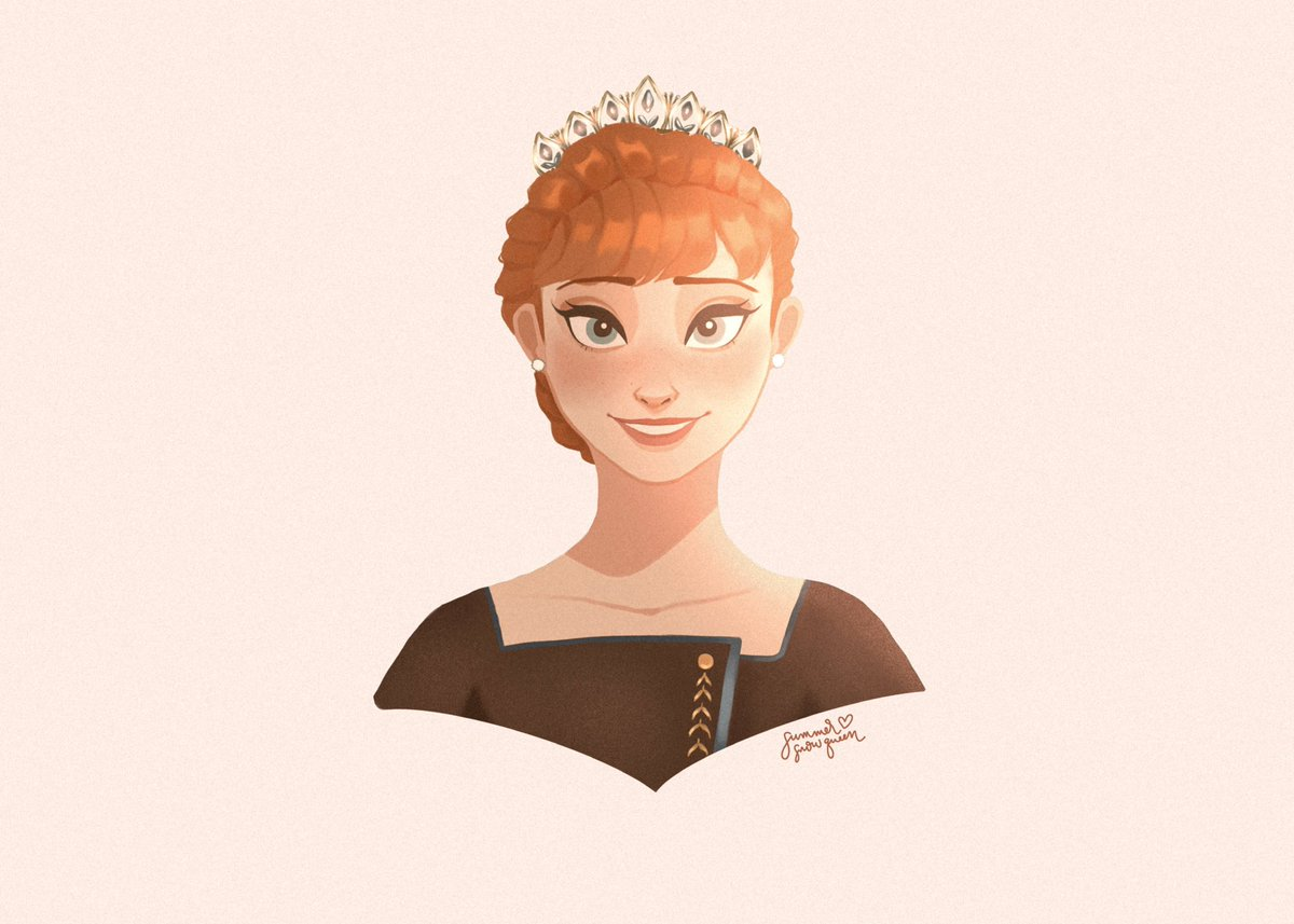 #Frozen2  spoiler   more than just a spare   #art #artph #frozen  #frozenanna  #Frozen2spoilers #QueenAnna<br>http://pic.twitter.com/mYNuILtkgn