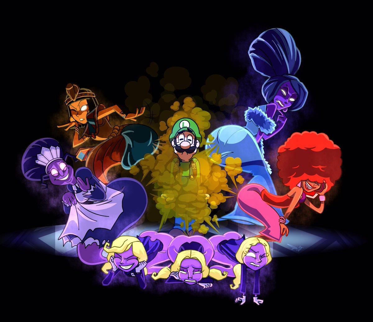 @TenuousOddity So Uh Luigi's Mansion 3 Is Pretty Fantastic