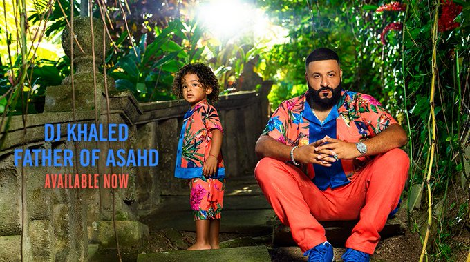 "November 26:Happy 44th birthday to singer,DJ Khaled(""I\m The One\"")"