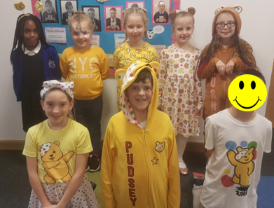The children had a fun filled day raising money for Children in Need. In total, we raised an amazing £355.18!