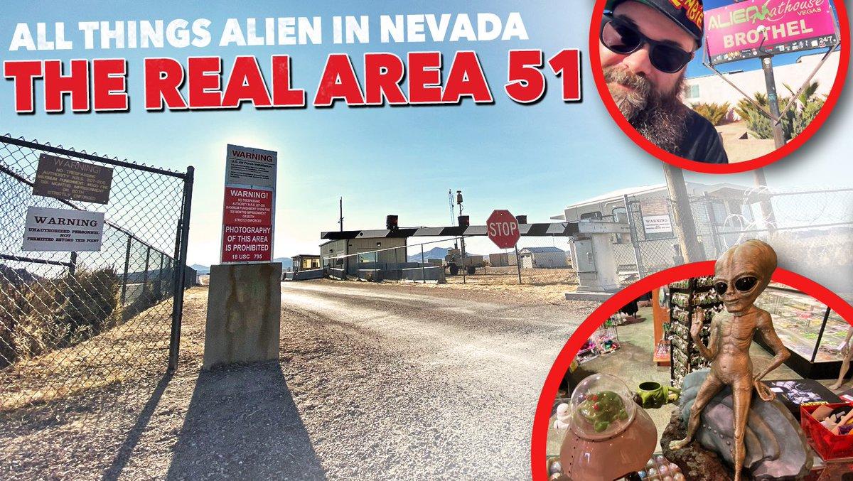 All Things Alien in Nevada (Area 51, Alien Research Center, Little A'Le'Inn) Area 51 Video  https:// youtu.be/GRaKAetOPsU     #Area51storm #Area51 #letsseethemaliens<br>http://pic.twitter.com/viPAyXiKGW