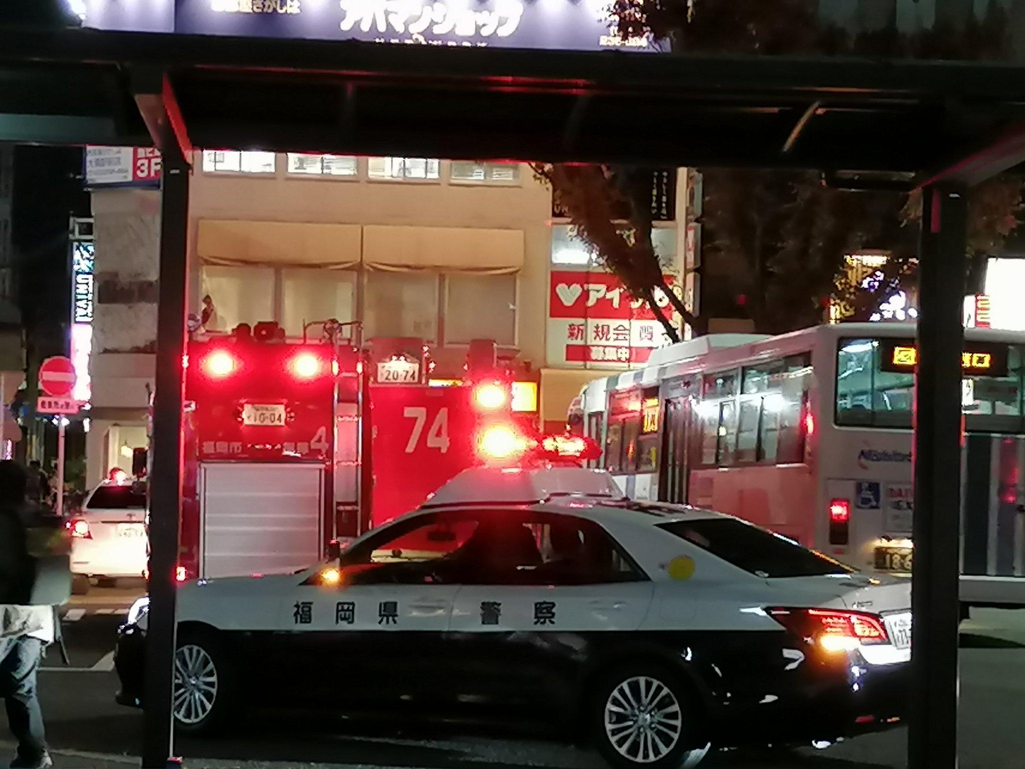 西鉄天神大牟田線の大橋駅で人身事故が起きた現場の画像