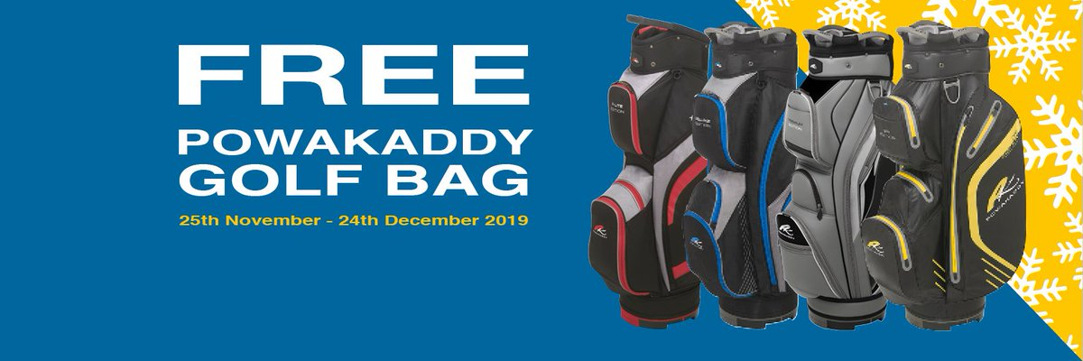 Great news - our fantastic free bag promotion is back! 🎉🎁 Running from now until Christmas Eve, get a FREE PowaKaddy cart bag when purchasing any new PowaKaddy lithium trolley. Thats a saving of up to RRP £229.99! Check out all the details here 👉 powakaddy.com/pkxmasbagpromo…