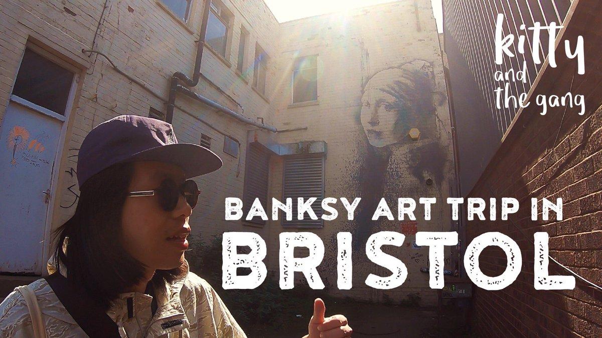 Banksy art trip in Bristol ไปดูงานแบงก์ซี่ ศิลปินสตรีทอาทระดับโลกจากผลงาน graffiti อันมีเอกลักษณ์ ที่เนื้อหาเสียดสีสังคม แต่ก็แฝงไว้ด้วยอารมณ์ขัน ที่บริสตอล https://t.co/t5sfwYp3ok #Banksy #Bristol #graffiti #england #art #streetart #kittyandthegang https://t.co/mbDktIwfA6