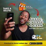 Image for the Tweet beginning: Have you downloaded the Soccer-Laduma