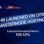 Image for the Tweet beginning: $SHB @Skyhubcoin launched on CITEX
