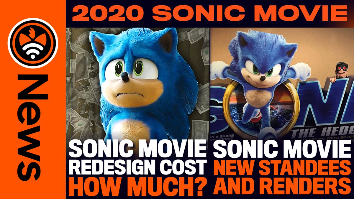 Tails Channel Sonic The Hedgehog News Updates On Twitter New Sonicnews Video New Rumours New Standees New Renders Here S A Recap Of The Latest Sonicmovie News Watch