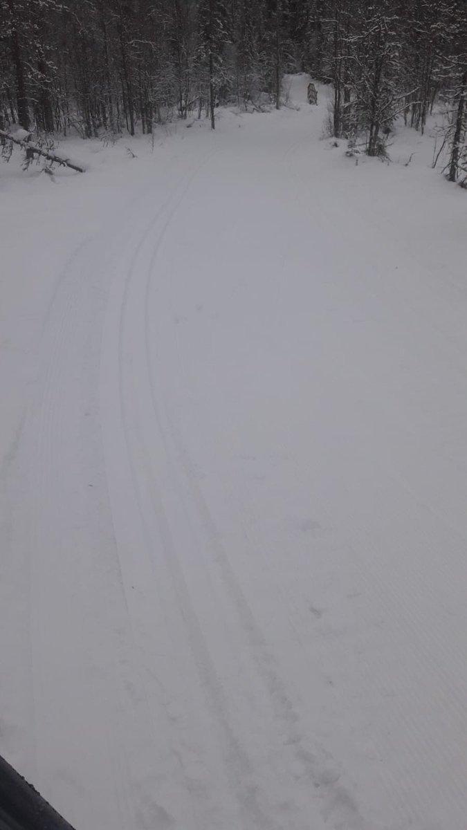 Yllaksen Ladut Yllas Ski Trails V Twitter Yllaksella