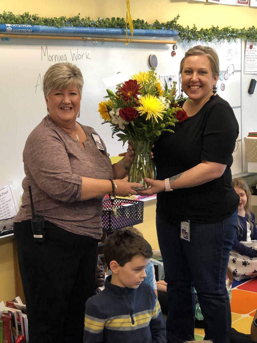Congratulations @GwenMann1071 Pioneer's Teacher of the Year!!!