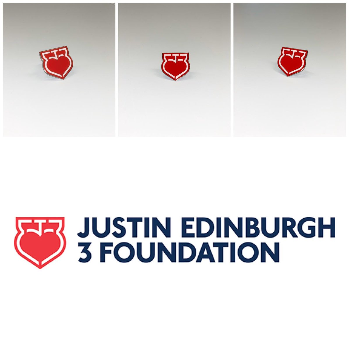 ❤️ Coming soon! Pick up your @JE3Foundation pin-badges on Saturday, December 14 at the Club Shop, Reception and main bar areas. Available for a suggested donation of £2. #LOFC #OnlyOneOrient