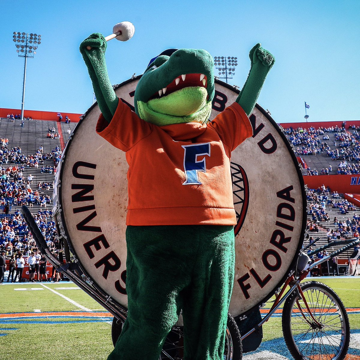 Replying to @AlbertGator: Life is GREAT when you're a 🐊  #GoGators