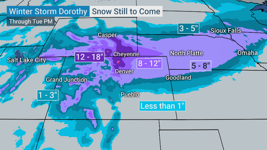 The Weather Channel On Twitter Breaking We Now Have Winter Storm Ezekiel In Addition To Winter Storm Dorothy