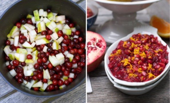 Todays recipe is a cranberry, pear and pomegranate relish! #ACoastGuardThanksgiving Head over to Facebook for the recipe: ow.ly/pURV50xjNHw 📷: Maria Meredith