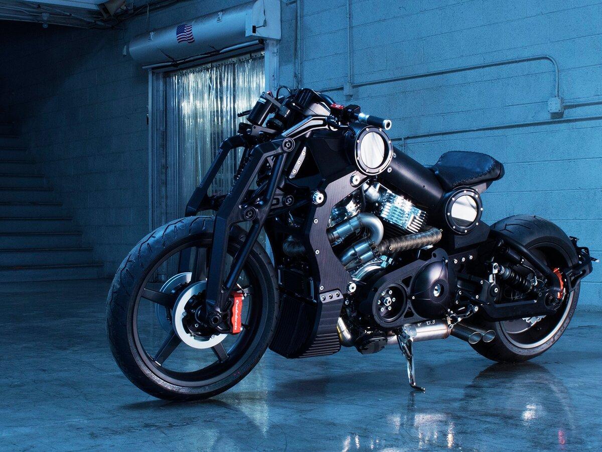 Мотоцикл конфедерат фото