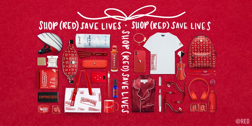 Start making a list (and checking it twice). When you choose to SHOP @RED SAVE LIVES, you save lives. bit.ly/2qIuUV2