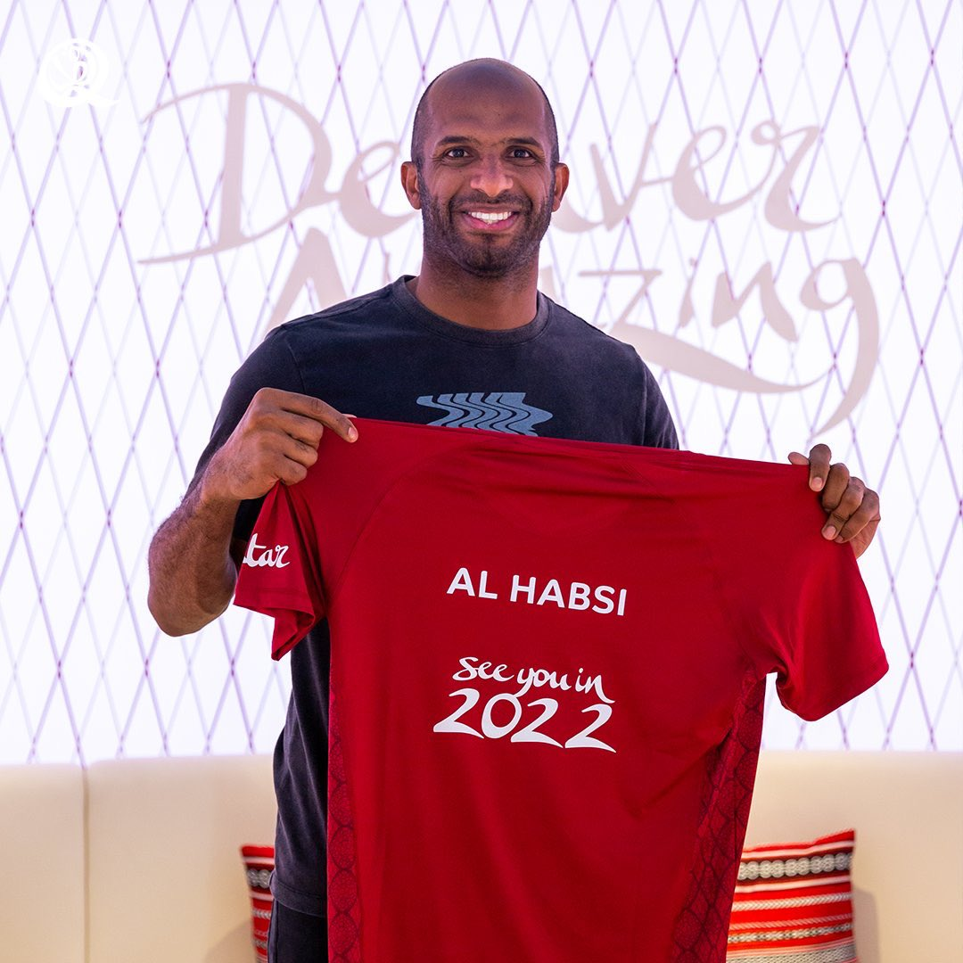 It is my pleasure and honor to be chosen by Qatar's Committee for delivery and legacy as an ambassador for the Qatar 2022 FIFA World Cup. I am pleased and happy to represent my country Oman and all arab athletes at this huge event in prosperous city of Doha @roadto2022