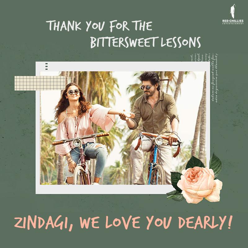 One last tip from us, to you - 💖💖 your Zindagi!  #3yearsOfDearZindagi #ItsOkayNotToBeOkay
