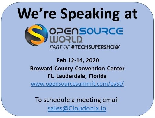 Speaking at Open Source World