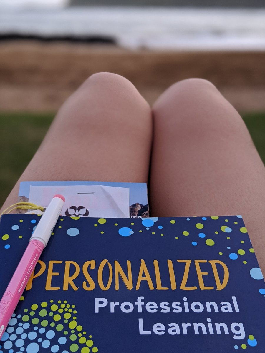Love reading Personalized Professional Learning by Allison Rodman. @thelearningloop   It's been refreshing to have my current work reiterated, and it's been serving as a great read for refining processes to make them more personalized.  #personalizedlearning #teacherpd  #ascdcel