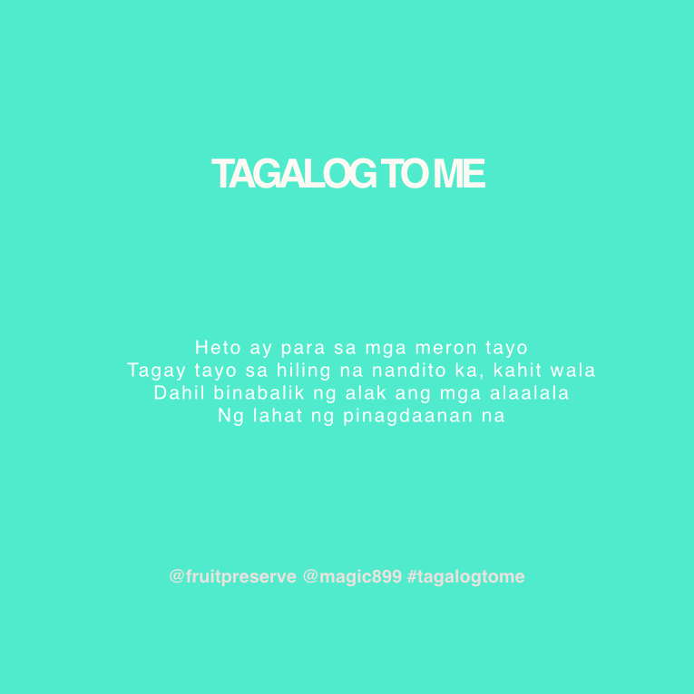 For 2 #RBO899 Movie Tickets, RT + Tell Jam @fruitpreserve & JJ @anabalmoris what song we translated for #TagalogToMe on the @LastCall899!