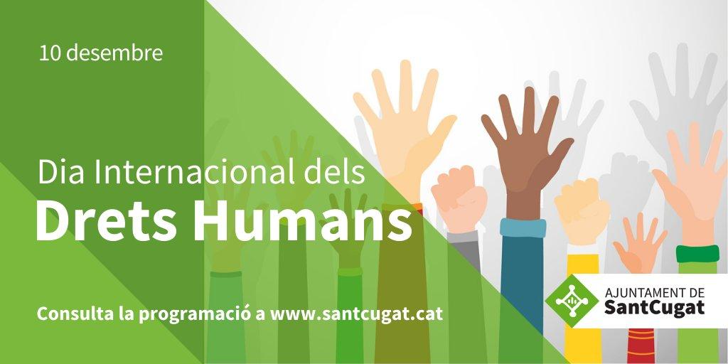"""#SantCugat commemora avui el #DiaInternacionalDretsHumans    Aquesta tarda no us perdeu:  🔴Preestrena del documental """"L'escriptor d'un país sense llibreries"""" 🗓️Dm 10 desembre  🕣19:00h 📍@CinemesStCugat     Consulteu aquí la programació👉https://t.co/MYEP3zsoMh  @Nudenu"""