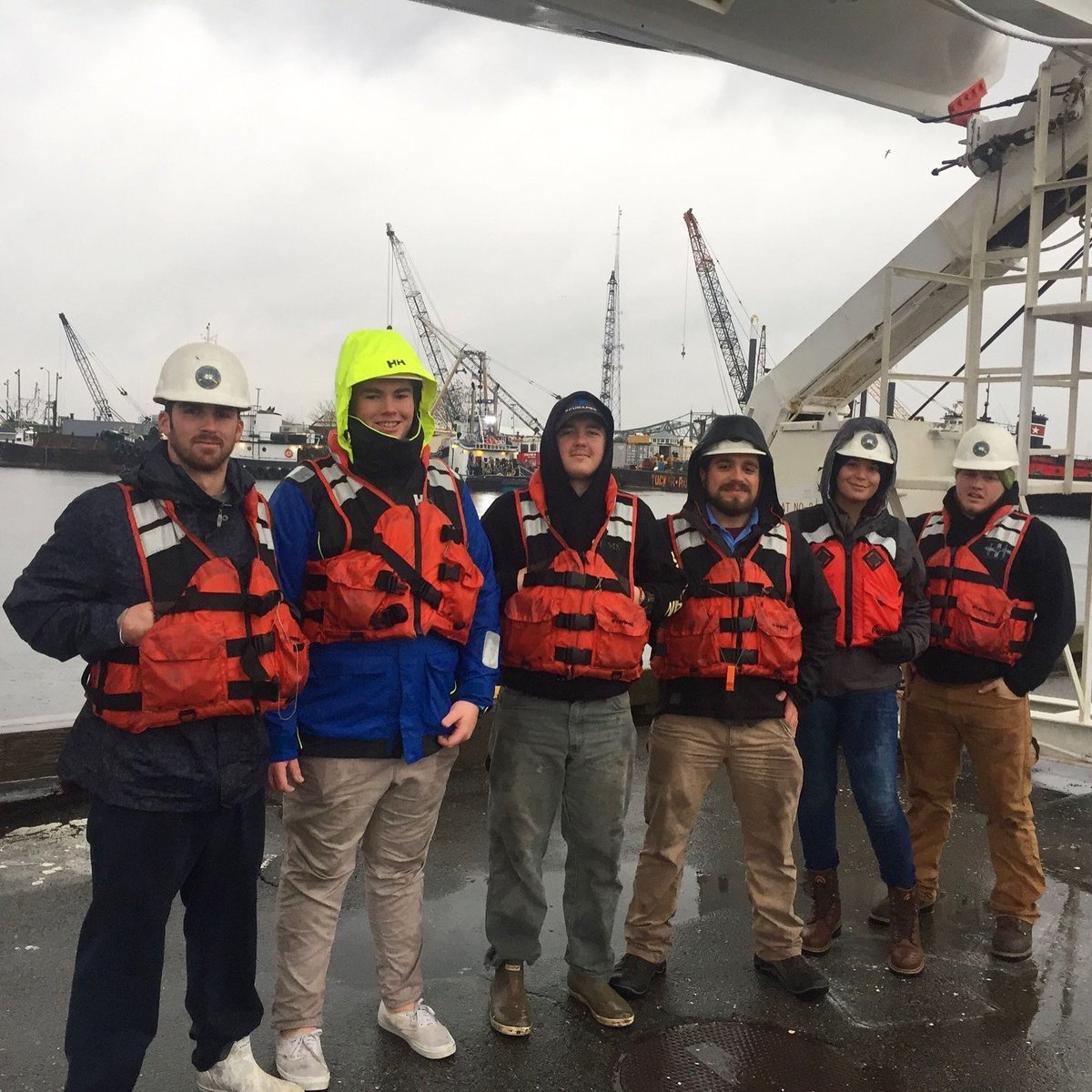 Happy Monday everyone!We've had a great start to our day as Northeast Maritime Institute's Cohort 8 has successfully completed their Proficiency in Survival Craft practicals. Congratulations!#honorthemariner #PSC #collegeofmaritimescience