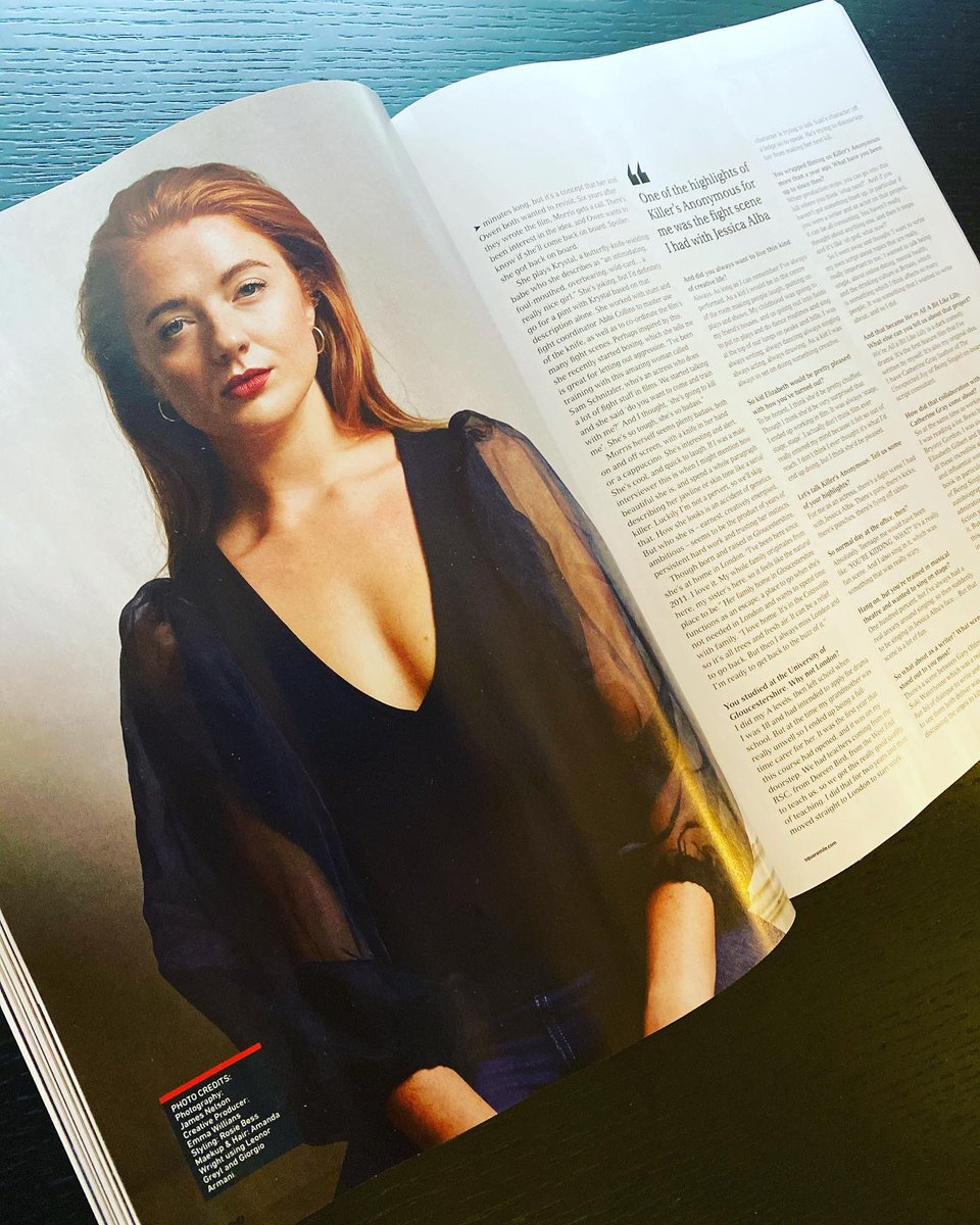 Check out my @squaremile_com interview now in print. #Glossy #writer #actress #writeractress #womeninfilm @cathgraywrites @jessicaalba @GaryOldmanWeb #wereallabitlikelilly #comedyscript #redlip #redhead #GiorgioArmani #makeuppic.twitter.com/OeUxgESh4B