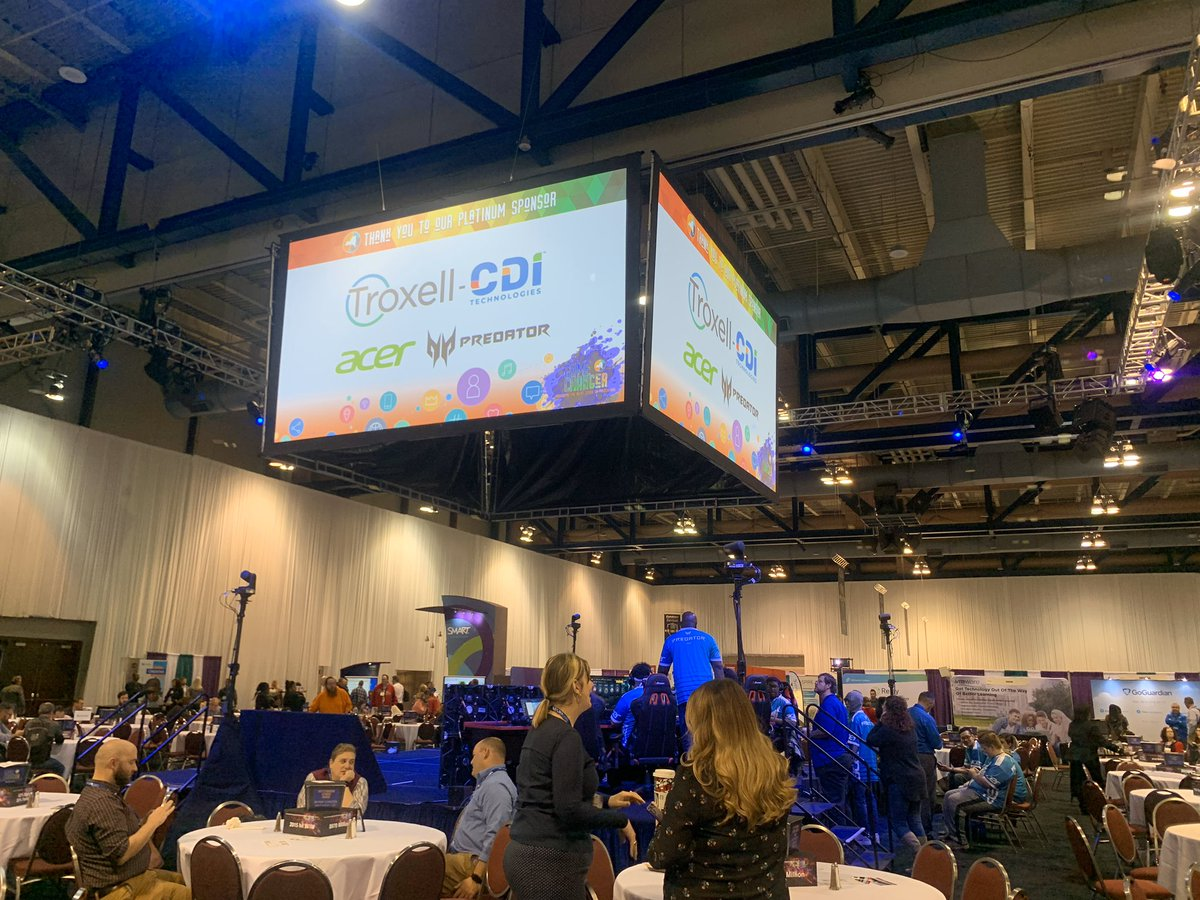 It's a busy day at #NYSCATE19! #GameChanger https://t.co/zDeKmIewr9
