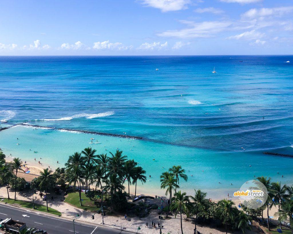 アロハストリート On Twitter 今週のハワイの壁紙 見下ろすワイキキ