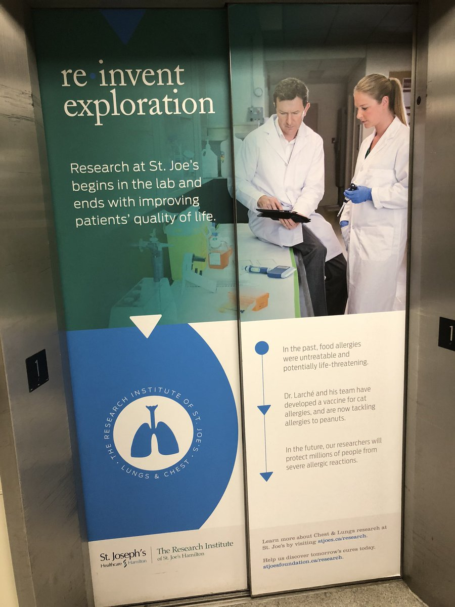 When on the first day of work you see this: @ResearchStJoes begins in lab & ends with improving patients quality of life! Excited to join @jeremyhirota team of scientific #marathon runners passionate for #Entrepreneurship with focus on #lung #cure #innovation