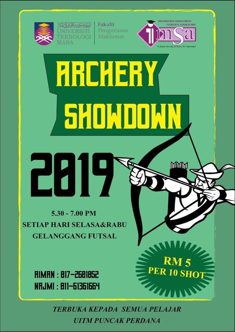 Imsa Puncak Perdana On Twitter Minggu Ini Pun Minggu Terakhir Untuk Archery Datang Awal Awal Tau E Kupon Disediakan