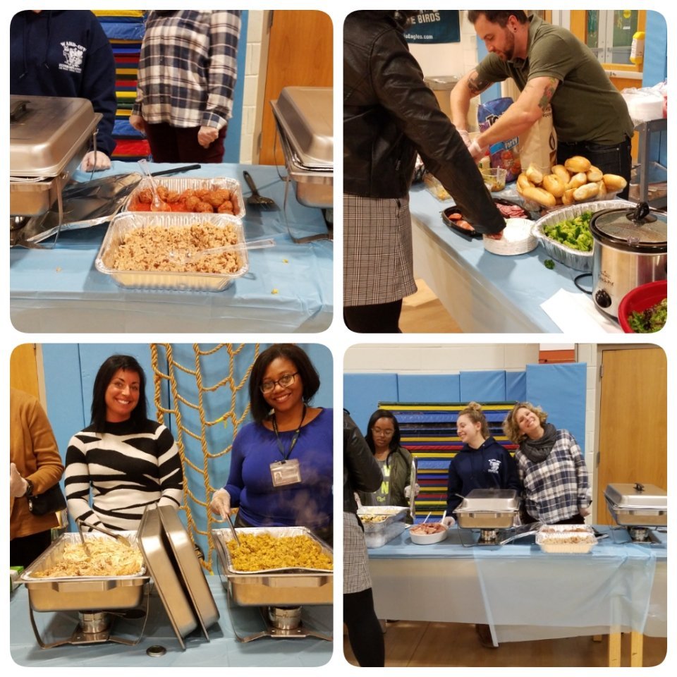 Our 1st Gratitude Dinner went well! What a great way to get the families, teachers, and community members together! Thanks Dr. Tiffany Anderson for the inspiration! #ASCD #ascdcel