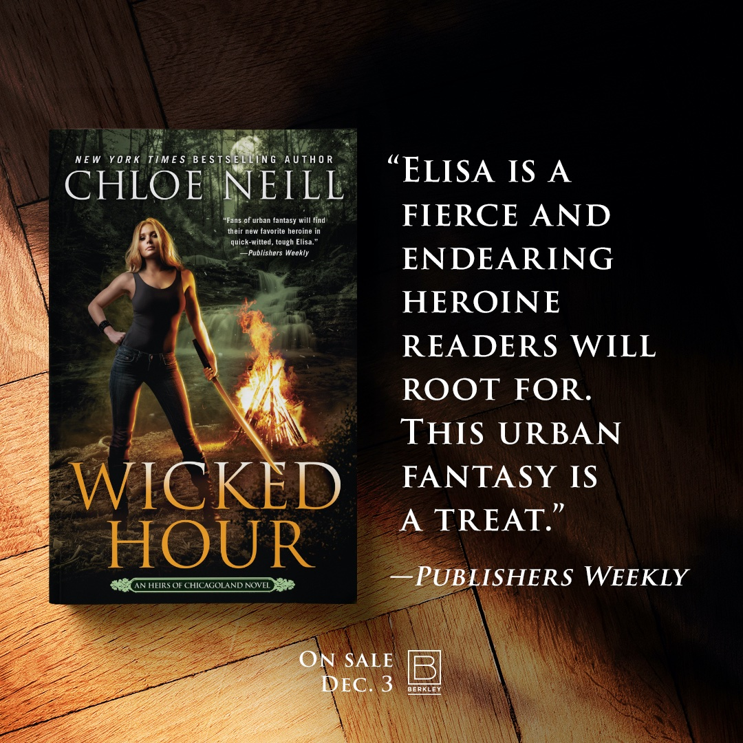 WICKED HOUR, the second Heirs of Chicagoland novel, is now available.  👍👍👍  Release Day Giveaway:  Order at AMA:  Order at B&N: