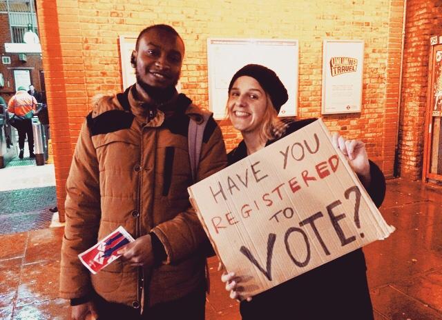 Register to vote 💚