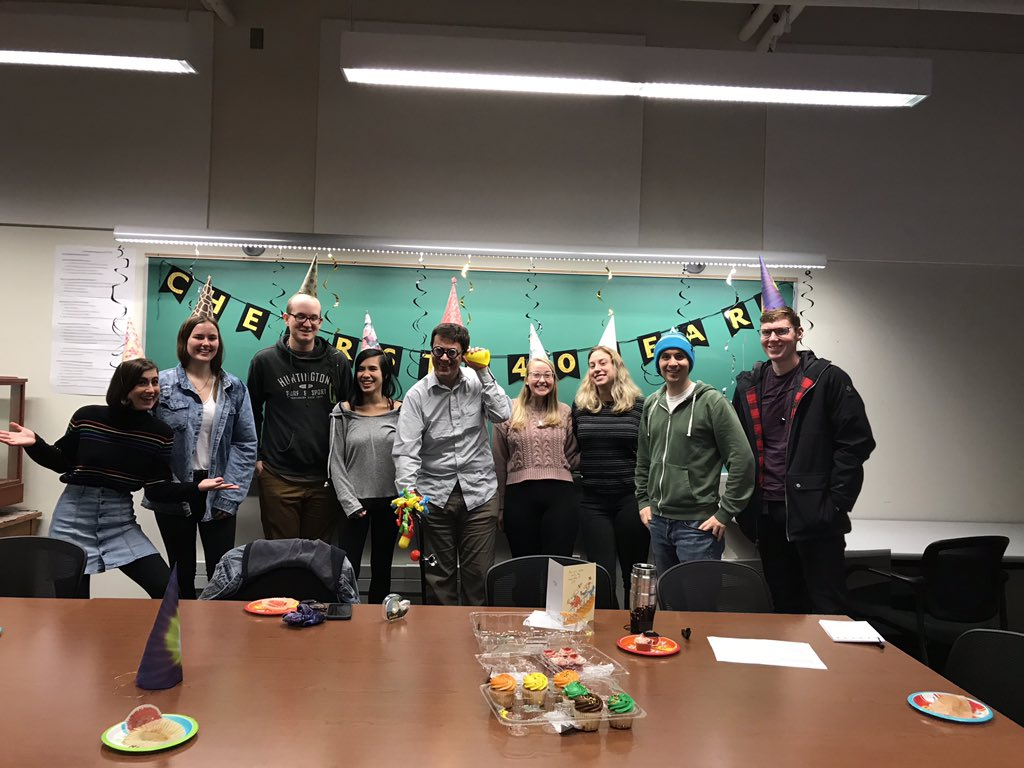 Lordy Lordy, look whose group helped him celebrate 40! Thank you Rider Group!