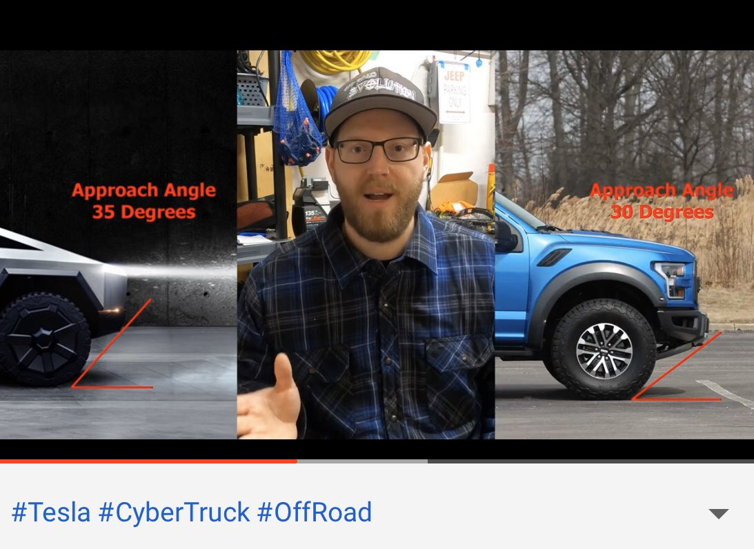 John D On Twitter Than Why Ford Raptor Has Only 11 5 In Of Ground Clearance If It S Built For Off Roading Cybertruck Has 16in Ohh I M Not Even Talking About Approach Departure Angles Https T Co 0f8t0wcsyc