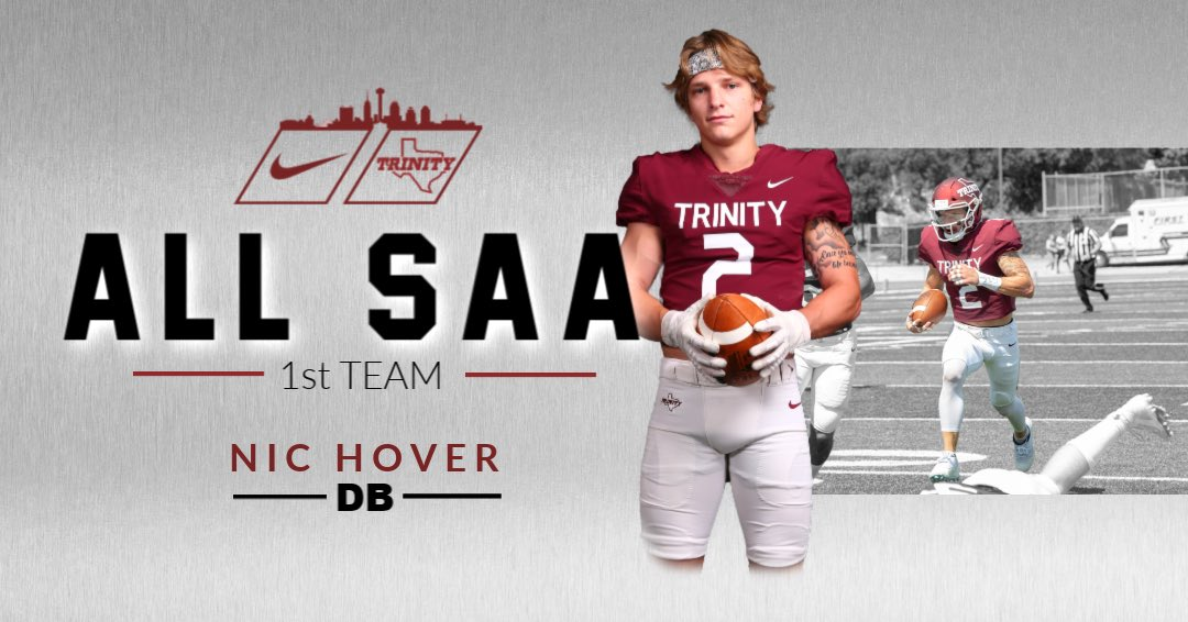 Congratulations @nic_hover on being All-SAA @SAA_Sports #BeTheStandard #PTC