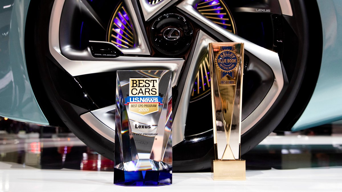 Awarded and so appreciative! In addition to being named @USNewsCars' 2020 Best CPO Award Winner for our certified pre-owned vehicle program, we were also honored with the @KelleyBlueBook Best Buy Award in the luxury category.