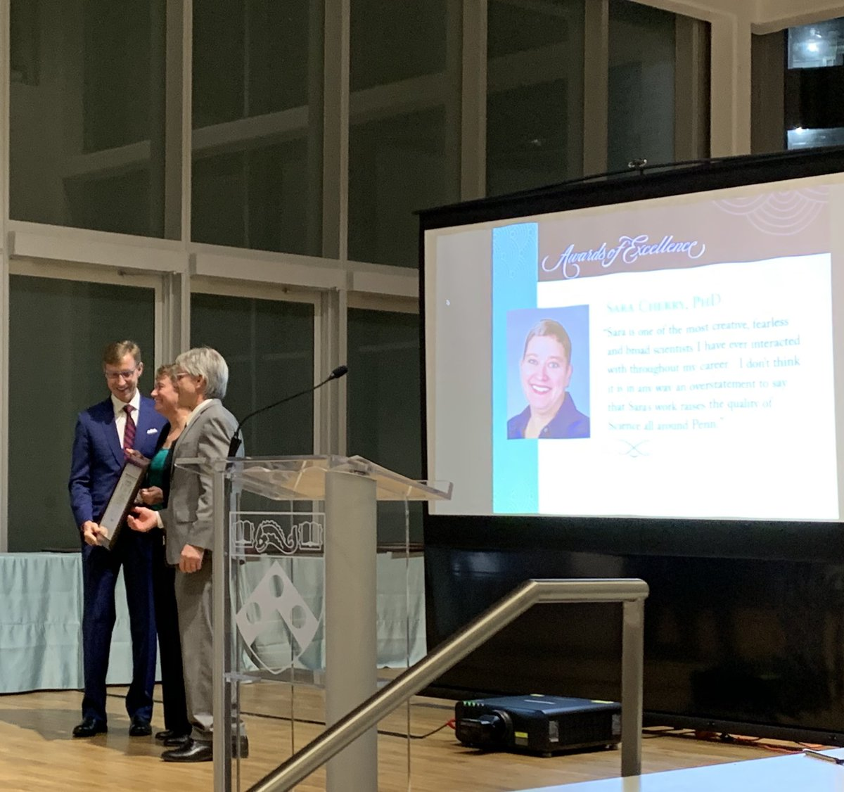 Congrats to our board member Sara Cherry on receiving the Stanley N. Cohen Biomedical Research Award!