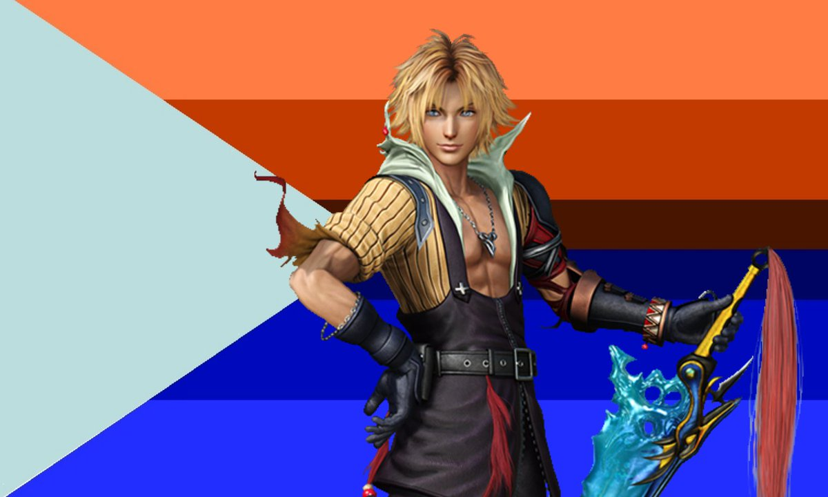 Tidus from Final Fantasy X is a himbo!
