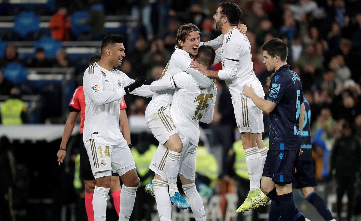 Реал Сосьедад - Реал Мадрид 20.09.2020 смотреть онлайн