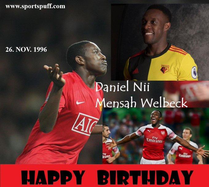 Happy 29th birthday former Manchester United academy graduate Danny Welbeck!