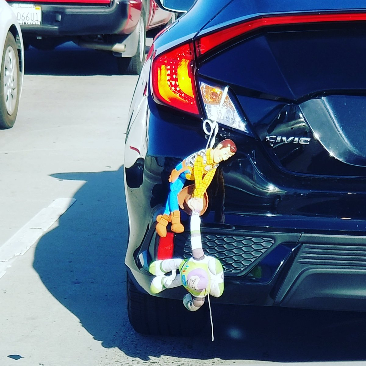 #BayAreatraffic has its moments. #woodyandbuzz pic.twitter.com/M1cFXTyPbR – at City of San José