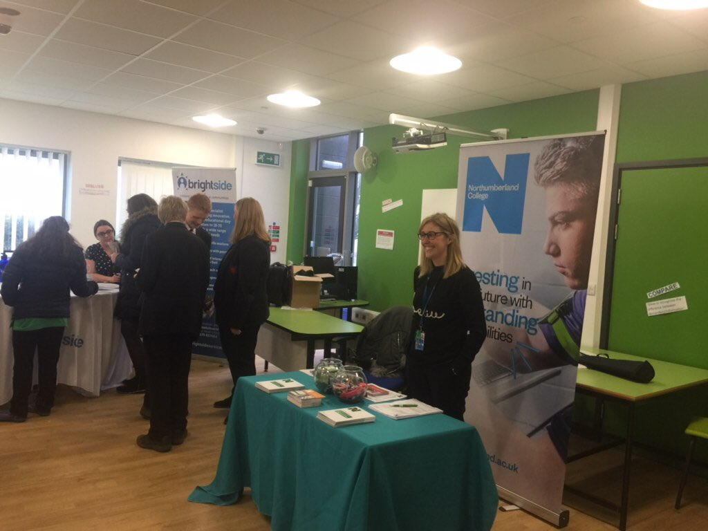 Great to see @NorthCollNat at the @NlandGuidance #SEND careers fair