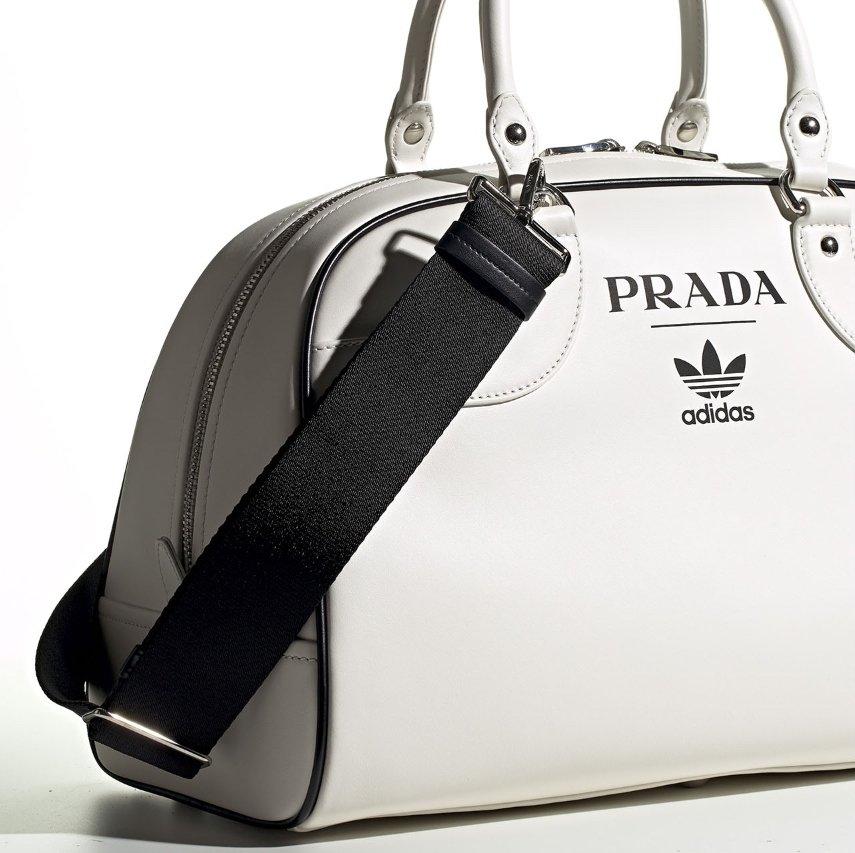 Prada x adidas Superstar & Bowling Bag Set First Look