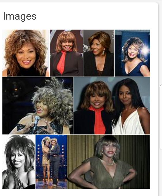 Happy Birthday Tina Turner you look good for being 80