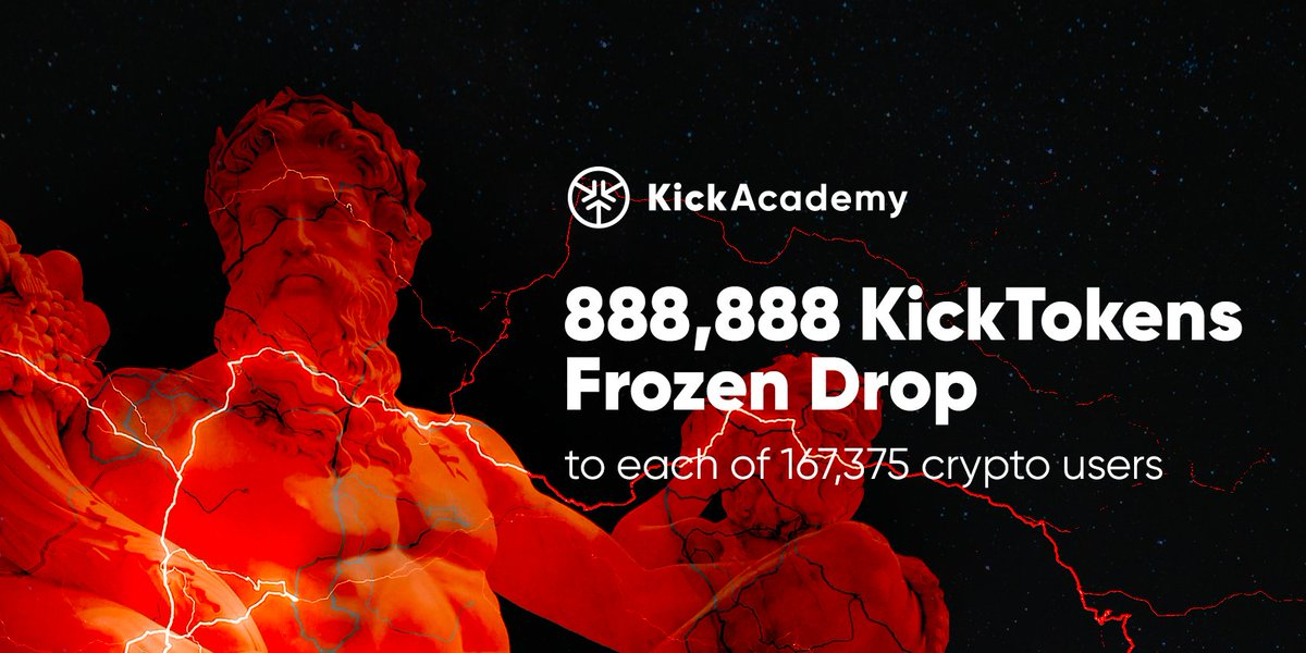 Kickcoin Kick Airdrop To Random Kick Holders Cryptocurrency Calendar